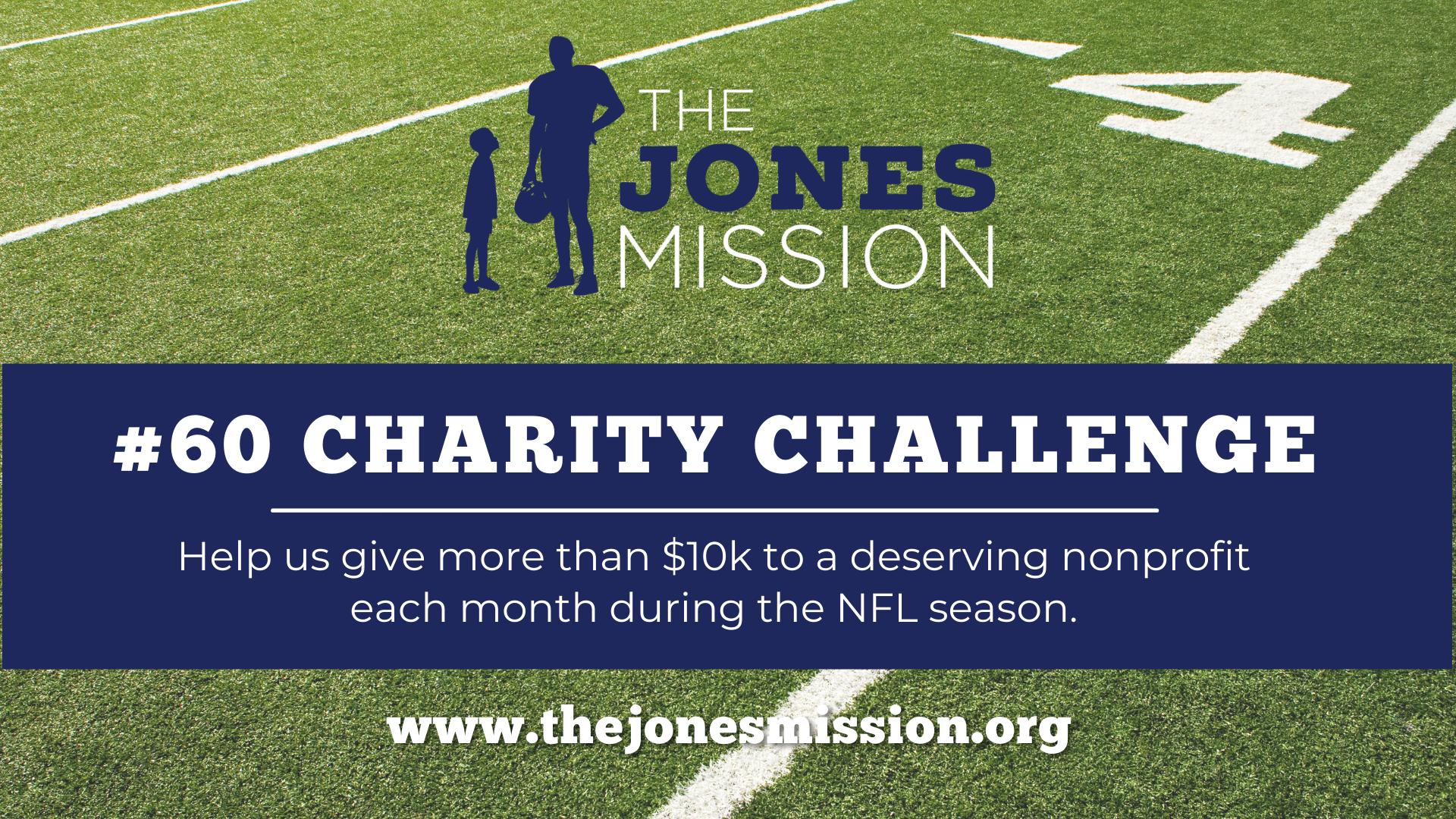 Ben Jones #60 Charity Challenge